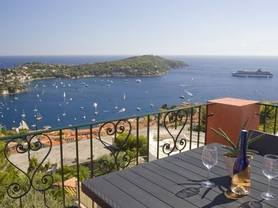 Photo for Penthouse with panoramic view in Villefranche-Sur-Mer