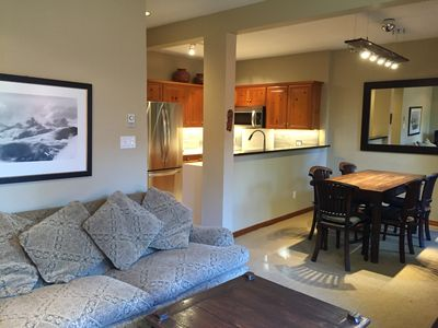 Photo for True Ski-in/Ski-out. Remodeled. Blackcomb. Sunny! Sleeps 4.