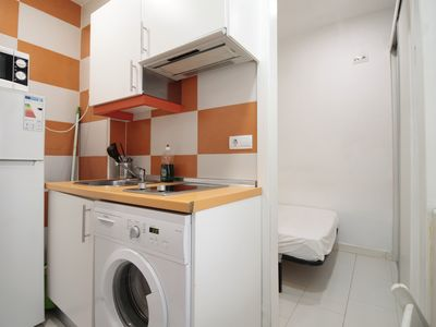Photo for 14m2 Modern Studio With Double Bed Built In 2014 (AZ2A1)