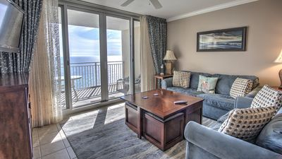 Photo for **HOT** Beautifully Upgraded Oceanfront Oasis, Free Beach Chairs & Free Wifi