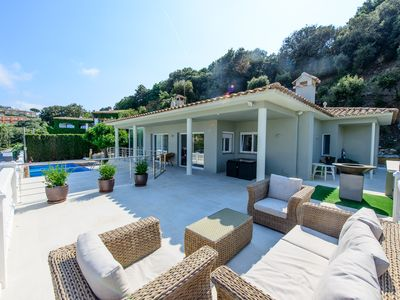 Photo for Amazing 5 bedroom villa, fully refurbished in 2017 in Begur Spain