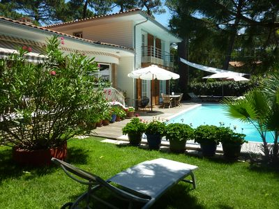 Photo for ARCACHON VILLA WITH HEATED SWIMMING POOL IN PEACE NEAR CENTER AND BEACH
