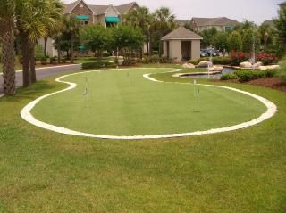 Putting Green in gated community