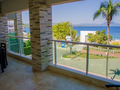 Photo for 2BD guest-friendly Sosua condo with sea views, steps from clubs and beach