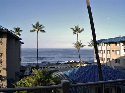 Photo for Oceanview 1BR/1BA at Kona Reef. Desirable F bldg, Free WiFi, Newly Upgraded.