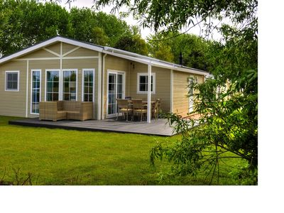 Photo for Holiday house Eagle Deluxe for 5 people on the golf course and the sea
