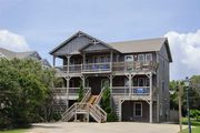 Sweet Virginia Breeze: Old Nags Head Place, walking distance to the beach, private pool and hot tub