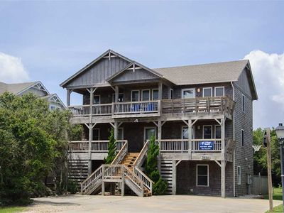 Photo for Sweet Virginia Breeze: Old Nags Head Place, walking distance to the beach, private pool and hot tub