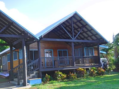 Photo for Raintree Gardens - Beautiful two bedroom house with outstanding ocean views