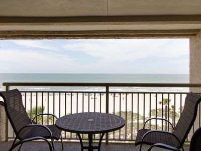 Photo for Oceanfront villa w/ ocean views, shared pool & more - walk to beach!