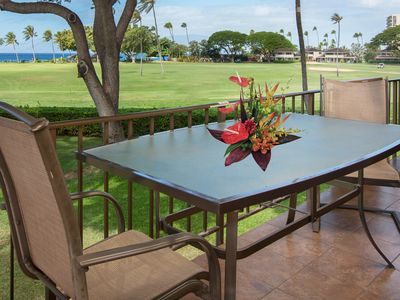 Photo for Waterfront condo with ocean views, lanai, & resort pool - close to beach