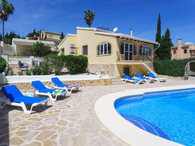 Photo for Vacation home Grevol in Jávea/Xàbia - 8 persons, 4 bedrooms
