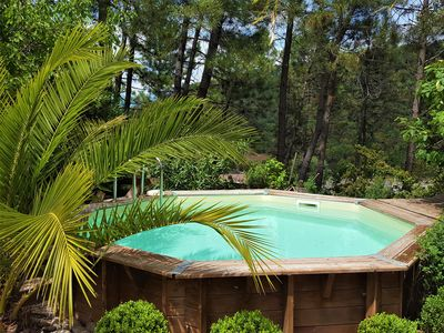 Photo for ***** PRETTY VILLA GROUND FLOOR, PRIVATE POOL, CHIC, TREND, QUIET, COMFORT