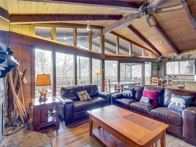 Photo for Stairway to Heaven| Heart of Gatlinburg| Great View| Wood Fireplace| WiFi| Hot Tub| Community Pool