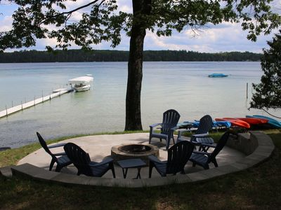 Photo for Beautiful, Crystal Clear Lake, Right on the Beach, Very Clean & Family Friendly!
