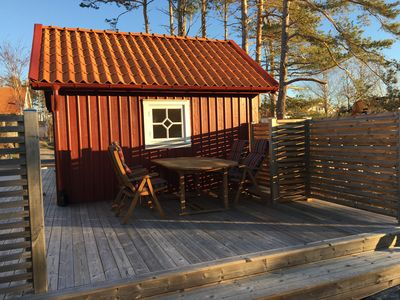 Photo for Rent newly built chalets in Grebbestad / Grönemad in scenic area.