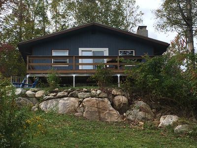 Photo for Waterfront Cabin on top of a Mountain w/Amazing Views in Southern VT