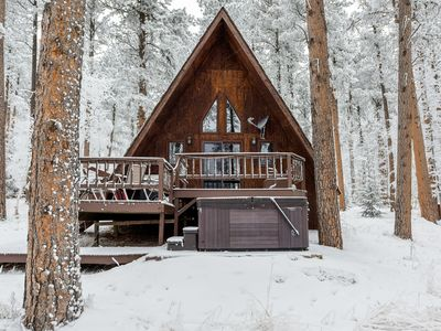 Photo for Cozy Cabin W/ Hot Tub on Deer Mountain close to ATV/Snowmobile Trails!