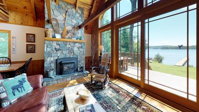 Photo for Moosehead Lake Lodge easy access to town 3 bedroom 2 bath with