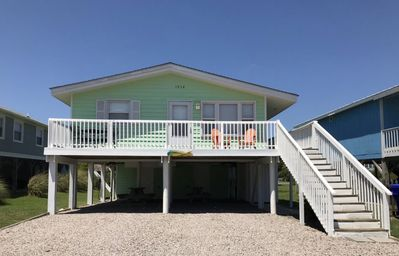 Photo for 2nd Row Cottage by the Sea - Drink Your Morning Coffee to the Sounds of the Surf