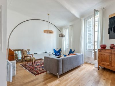 Photo for Design 2 br flat close to station and Old Port in Marseille - Welkeys