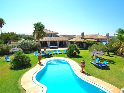 Photo for Can Gamundí - Stunning villa with swimming pool and large garden 052