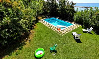 Photo for MR2 ⎈ Villa Mediterranea ⎈10 Guests Villa with Pool and Access to the Beach