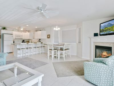 Photo for This lovely Ocean Block Luxury Townhome sleeps 8 in style & comfort.
