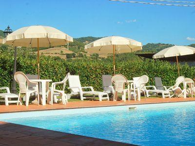 Photo for 7 bedroom Villa, sleeps 14 with Pool, FREE WiFi and Walk to Shops