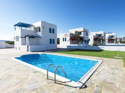 Photo for Perfect vacation in a beautiful holiday house with pool, garden, wifi | Rhodos