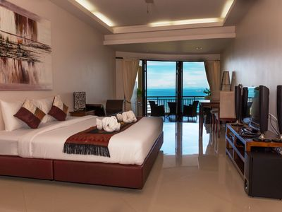 Photo for Amazing Panoramic Sea View Apartment in Koh Phangan