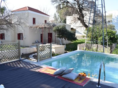 Photo for The windmillvilla is a traditional Rhodian farm house.