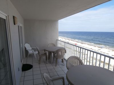Photo for Ocean Front Condo - 2BR, 2 BA, 7th Floor, Large Balcony
