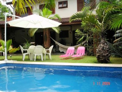 Photo for House 4 bedrooms (2 suites), swimming pool and greenery.