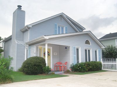 Photo for NEW TO RENTAL! 3 BEDROOM 2 BATH HOUSE 4 BLOCKS TO THE BEACH!!!