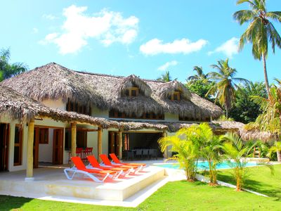 Photo for Coté-ci Coté-la, Spectacular Brand New Villa, 90m from Coson Beach! Sleeps 8