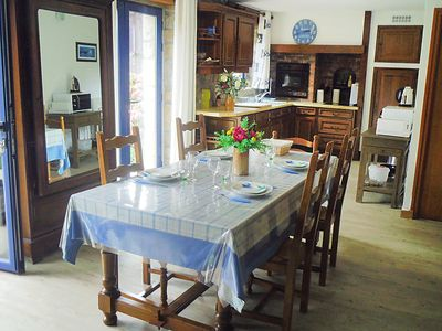Photo for Vacation home St Adrien in Ploemeur - 4 persons, 2 bedrooms