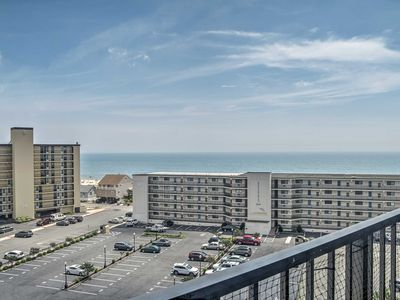 Photo for NEW-Ocean Block Condo w/Balcony, Walk to the Beach