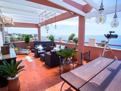 Photo for A Luxury penthouse apartment in Benalmádena Costa