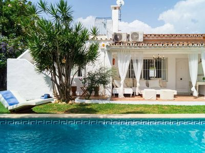 Photo for Beachfront holiday home in Marbella
