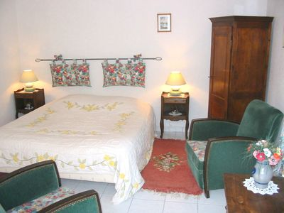 Photo for Le Puits, charming room near Chambord, Blois and Cheverny