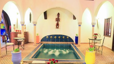 Photo for Riad in the heart of the medina secure with swimming pool
