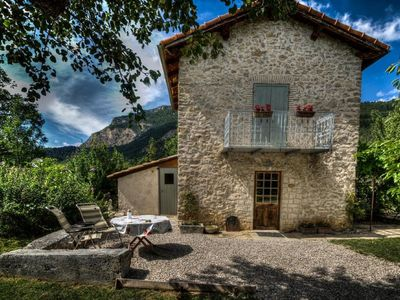 Photo for Authentic little French wine house in Châtillon-en-Diois