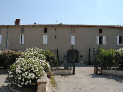 Photo for A superb mansion for 14 pers. near Carcassonne, South of France