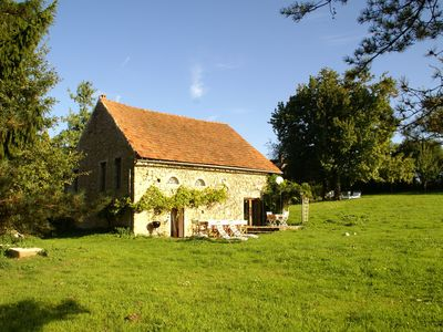 Photo for Tastefully quiet cottage in the Morvan, in Saint-Germain-des-Champs