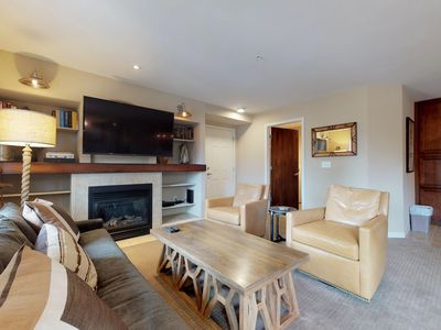 Photo for NEW LISTING! Upscale condo near skiing, hiking, golfing & shopping/dining