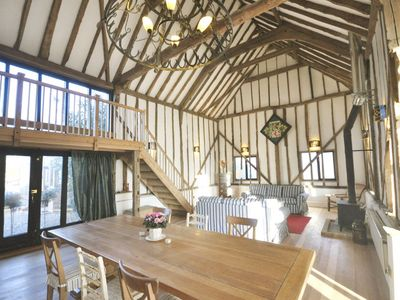 Photo for The Dairy Hall 'beautiful vaulted barn in a stunning rural location'