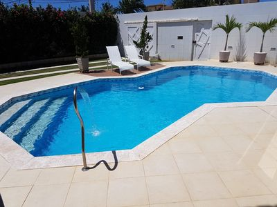 Photo for Stella Maris mansion - swimming pool, sauna and barbecue 200 meters from the beach