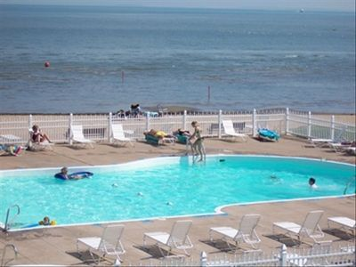 Photo for Fantastic View Waterfronts Condo RIGHT ON THE LAKE BEACH POOL JET EXPRESS