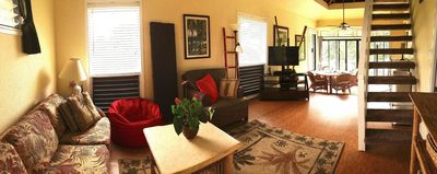 "Photo for ""Bamboo Bungalow"" Spacious & Bright, Studio Condo w/ Full Kitch & Lg Bath"